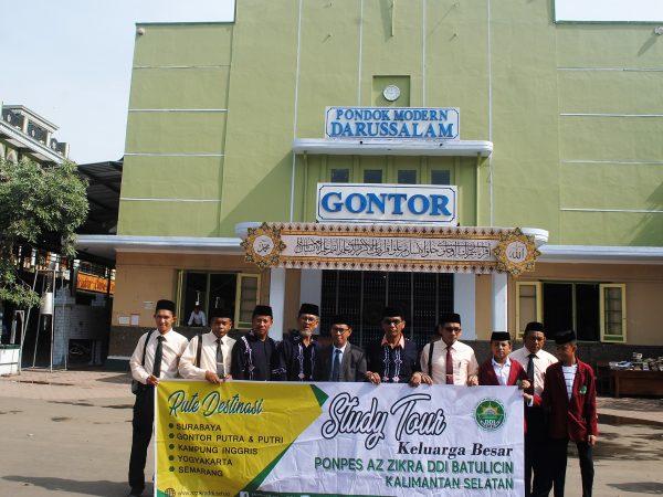 Pondok Pesantren Azzikra DDI adakan study tour ke Gontor